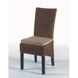 Lot de 2 chaises de salle à manger BONIFACIO