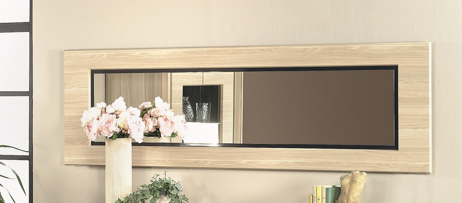 Miroir rectangulaire contemporain coloris détroit Joelle