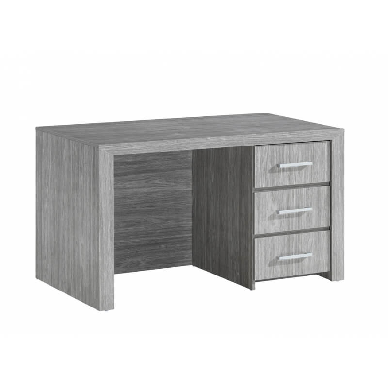 bureau enfant contemporain 3 tiroirs ch ne clair melinor matelpro. Black Bedroom Furniture Sets. Home Design Ideas