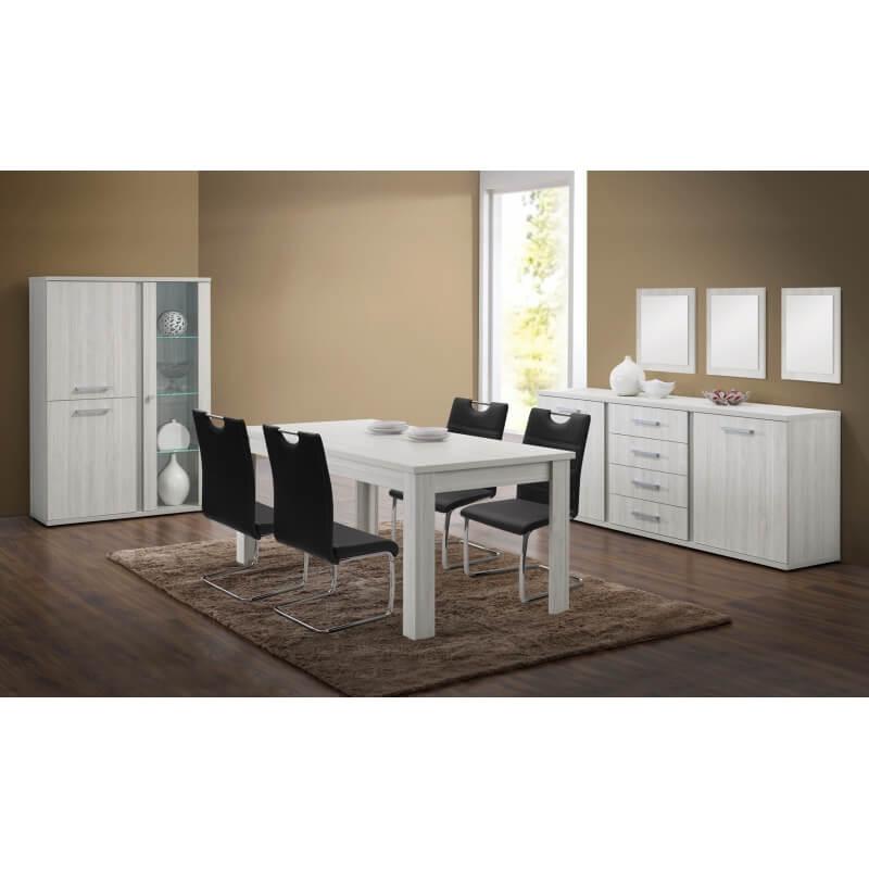 miroir de salle manger carr ch ne clair cynthia matelpro. Black Bedroom Furniture Sets. Home Design Ideas