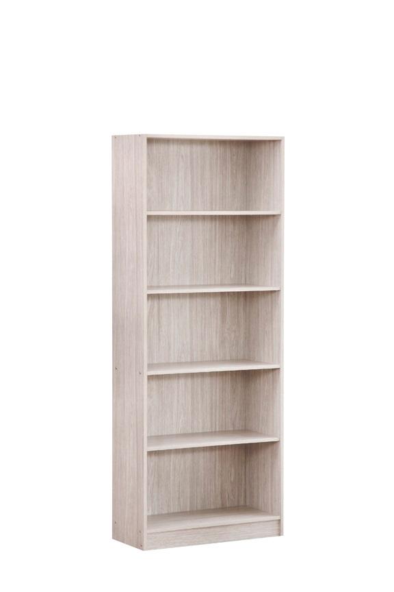 Bibliothèque contemporaine chêne gris Ismael