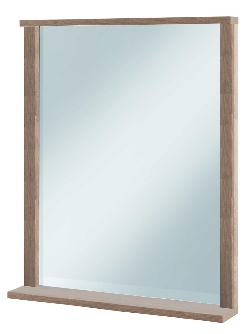 Miroir de salle de bain rectangulaire coloris chêne Poseidon