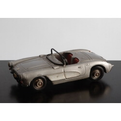 Voiture sport de collection RETRO DECO GRISE