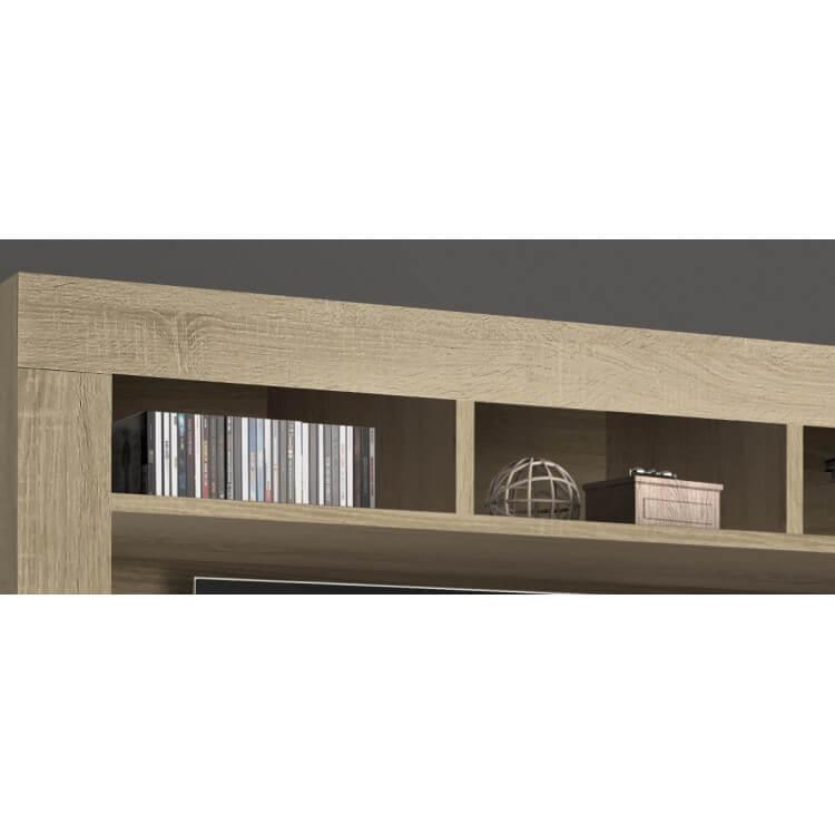 banc tv contemporain ch ne samoa eleanore matelpro. Black Bedroom Furniture Sets. Home Design Ideas