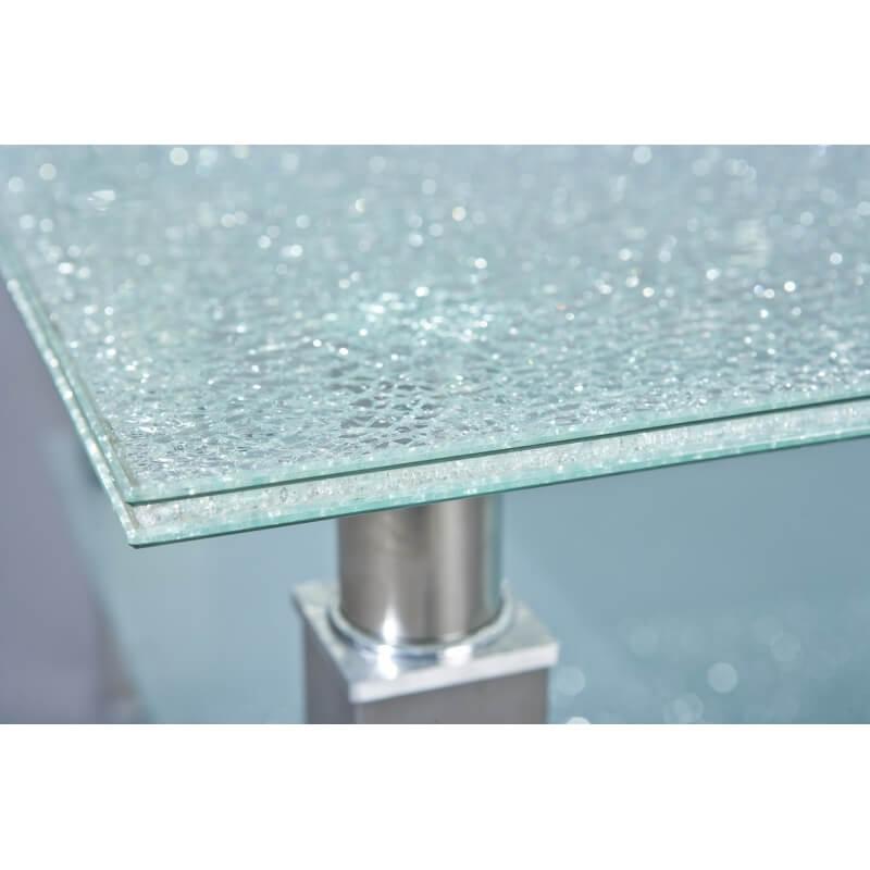 table basse design m tal et verre edge. Black Bedroom Furniture Sets. Home Design Ideas
