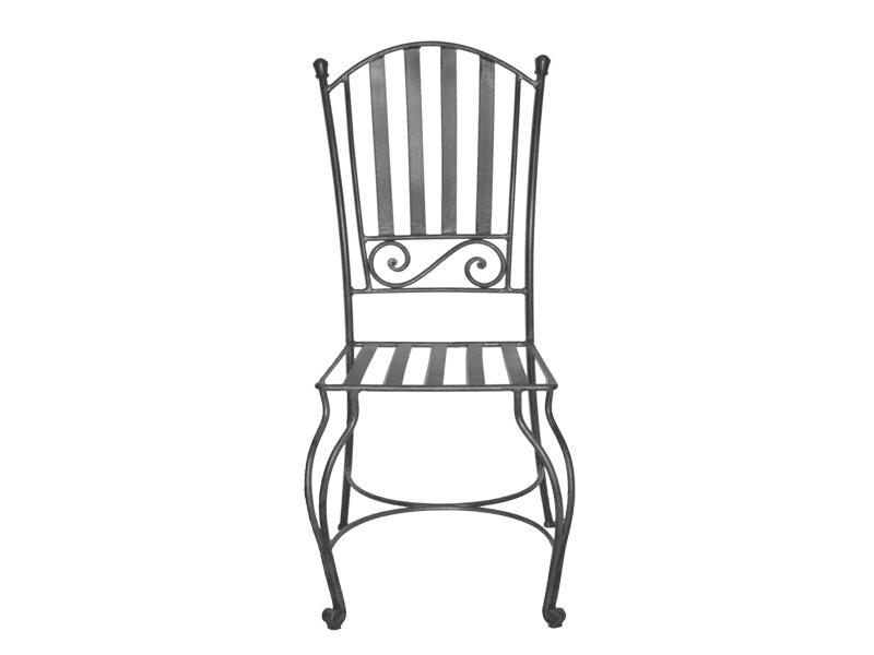 Chaises fer forgé de salle à manger (lot de 2) VERONE