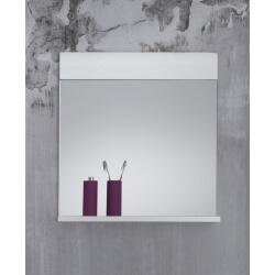 Miroir de salle de bain rectangulaire coloris blanc Kyrios