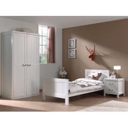 Chambre enfant contemporaine coloris blanc laqué Oceanie
