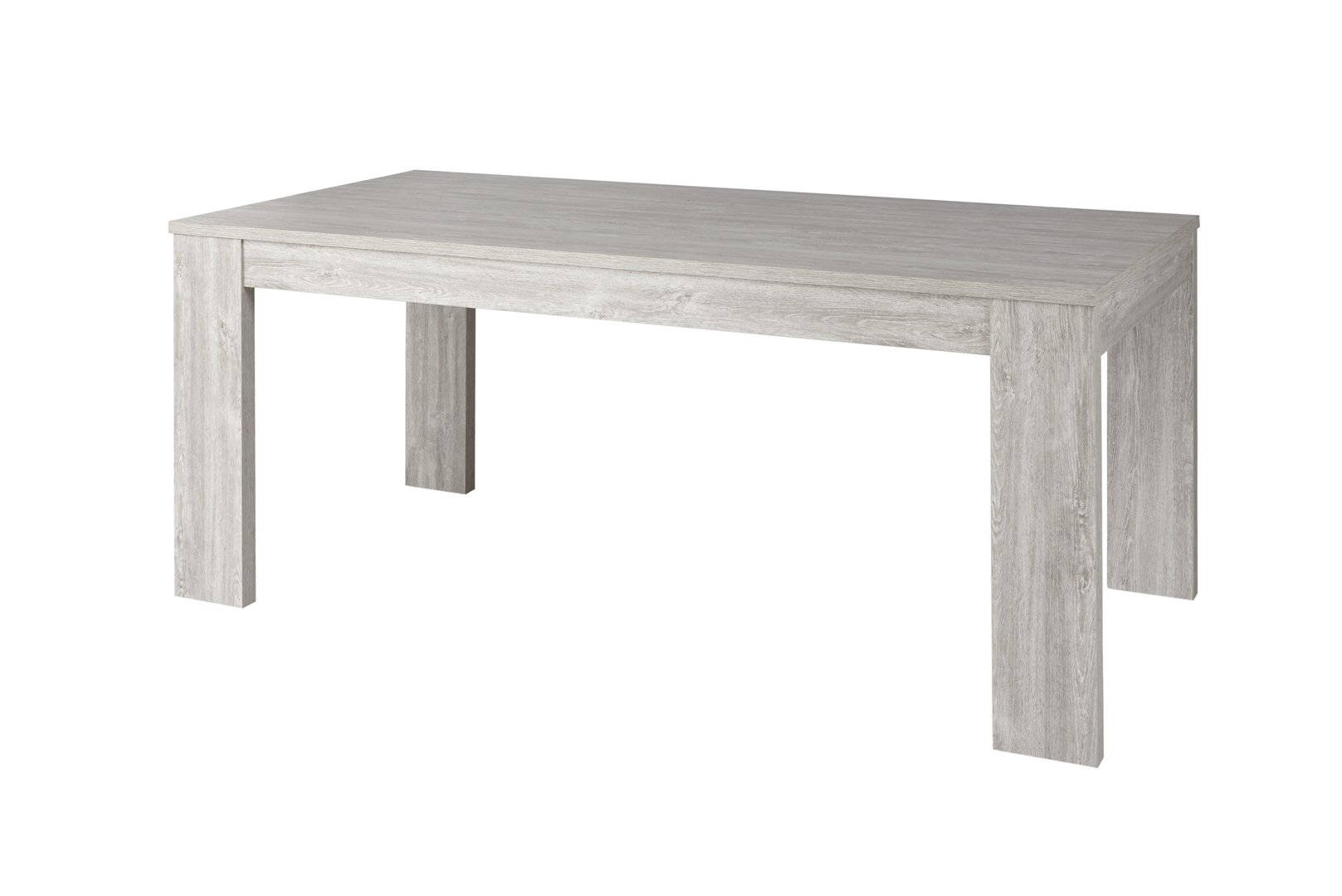 Table de salle manger contemporaine ch ne clair livaro matelpro - Table de salle a manger contemporaine ...