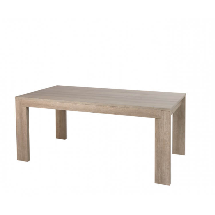 table de salle manger contemporaine chne gris jenawel - Table Contemporaine