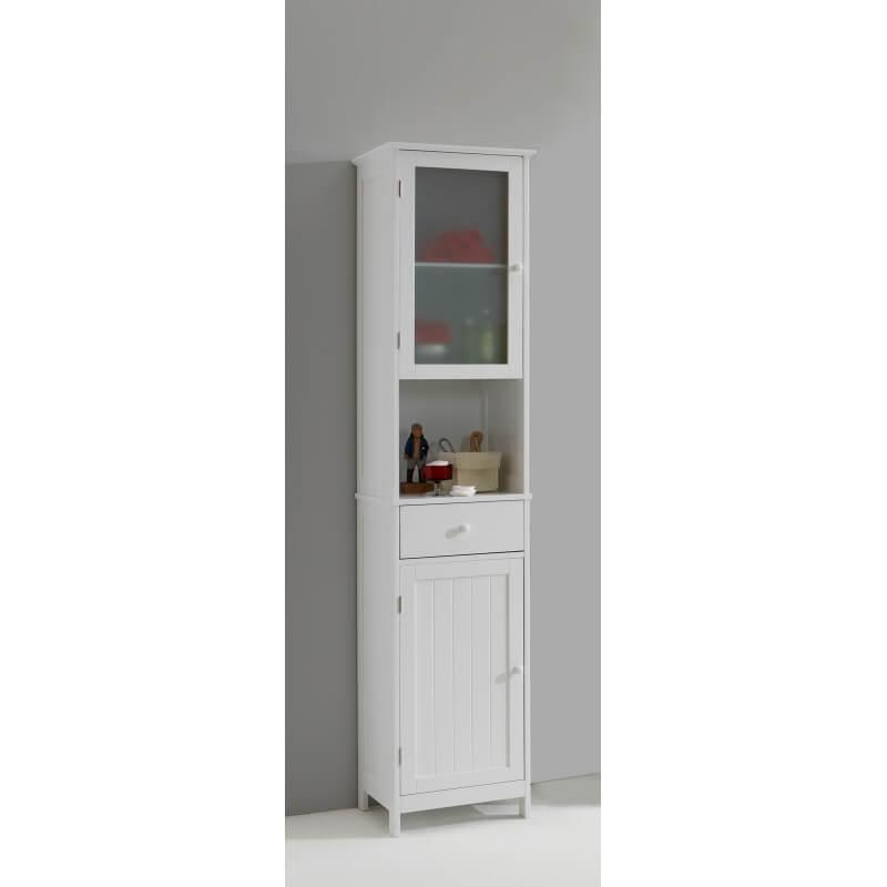 colonne de salle de bain contemporaine blanche fidusine. Black Bedroom Furniture Sets. Home Design Ideas