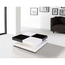 Table basse design DAMIER