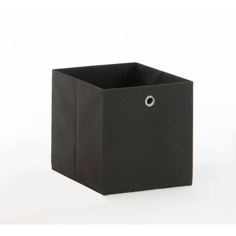 panier de rangement en tissu anthracite gama ii matelpro. Black Bedroom Furniture Sets. Home Design Ideas