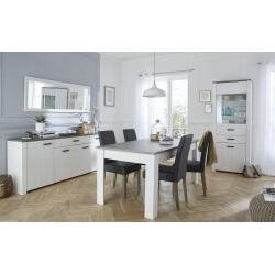 Salle à manger complète pas chère : bahut, table, vitrine pas cher ...