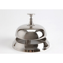 Cloche de table CHROME