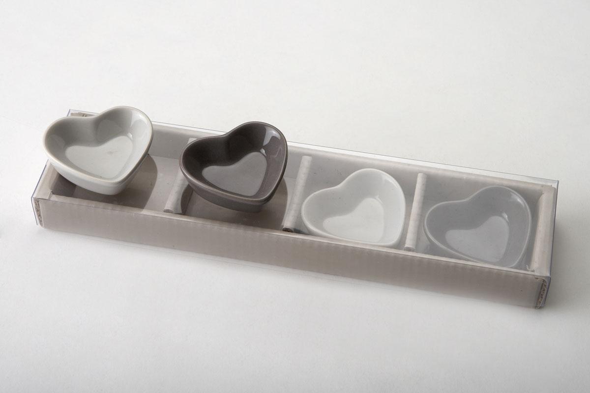 Coffret 4 mini-moules coeur RESSOURCES