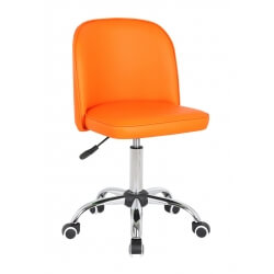 Chaise de bureau enfant design orange Augustine