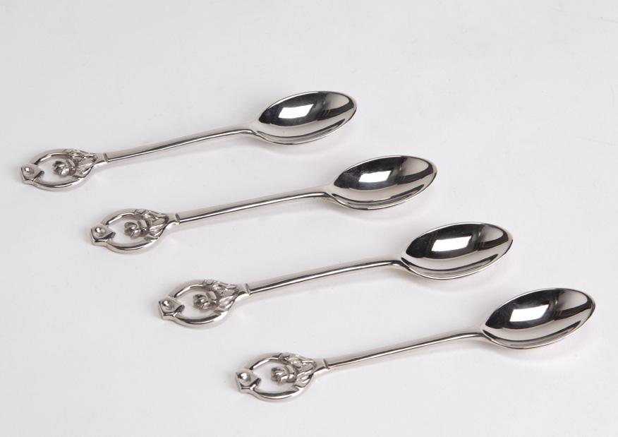 Coffret 4 mini-cuillères LOUIS