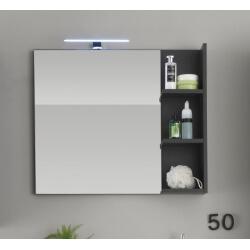 Miroir de salle de bain gris Messine