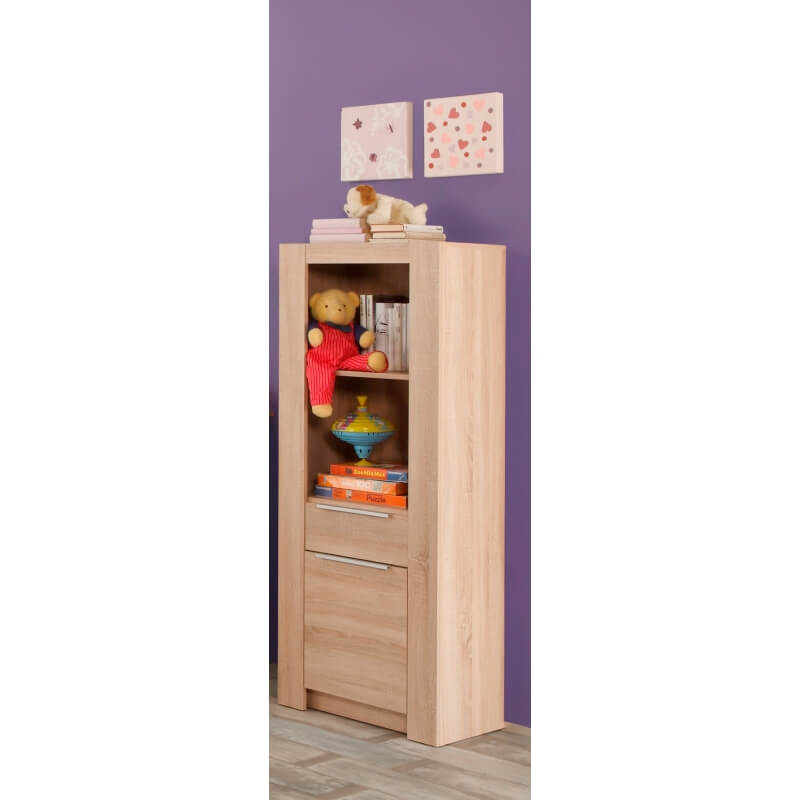 biblioth que enfant contemporaine ch ne clair charlotte. Black Bedroom Furniture Sets. Home Design Ideas