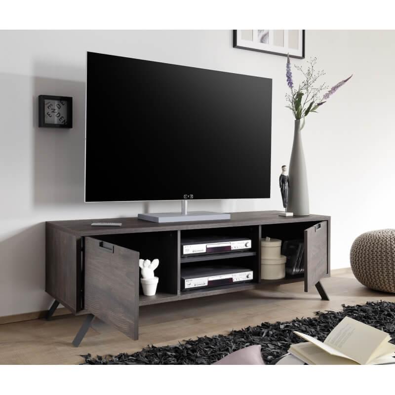 meuble tv contemporain coloris weng irvine matelpro. Black Bedroom Furniture Sets. Home Design Ideas