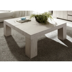 Table basse contemporaine chêne beige Melanie