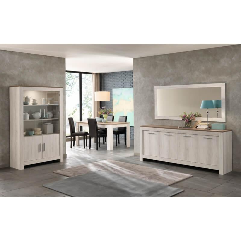 miroir de salle manger rectangulaire 140 cm ch ne. Black Bedroom Furniture Sets. Home Design Ideas