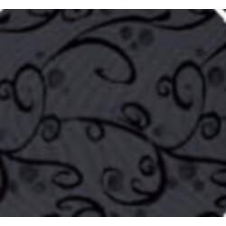 Dosseret AMBIANCE pour sommier fixe-80 x 200 cm-Noir volute