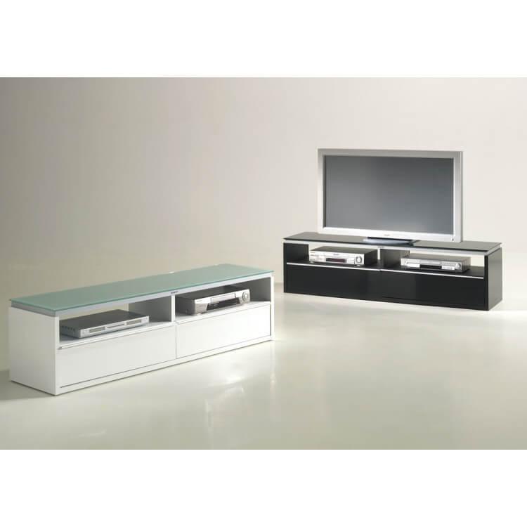 Meuble TV BEACH blanc