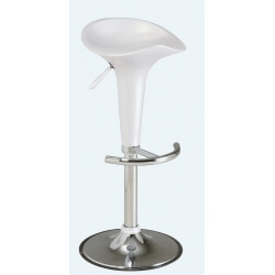 Lot de 2 tabourets de bar GROOVY