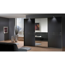 Armoire adulte design 3 portes coloris lave Davina