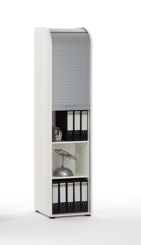Meuble de rangement de bureau coloris blanc Belma III