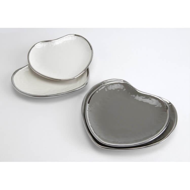Vide-poche coeur (lot de 2) MARGAUX