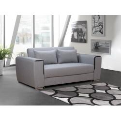 Canapé convertible contemporain en tissu gris Baleare
