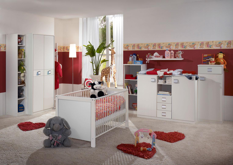 Chambre bébé contemporaine blanche Alouette