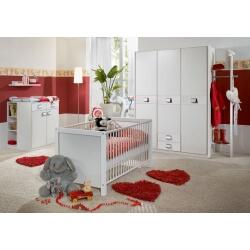 Chambre bébé contemporaine blanche Alouette II