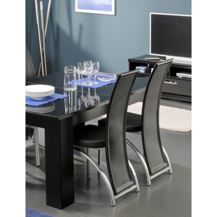Chaises de salle à manger GLOSSY 2 (lot de 4)