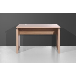 Bureau contemporain coloris noyer clair 120 cm Arlington