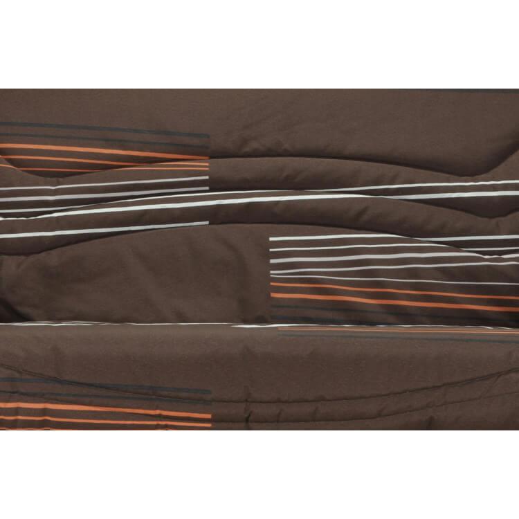 Housse BZ & 2 housses de coussin coloris imprimée Oliver | Matelpro