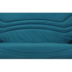 Housse BZ & 2 housses de coussin coloris bleu canard Boris