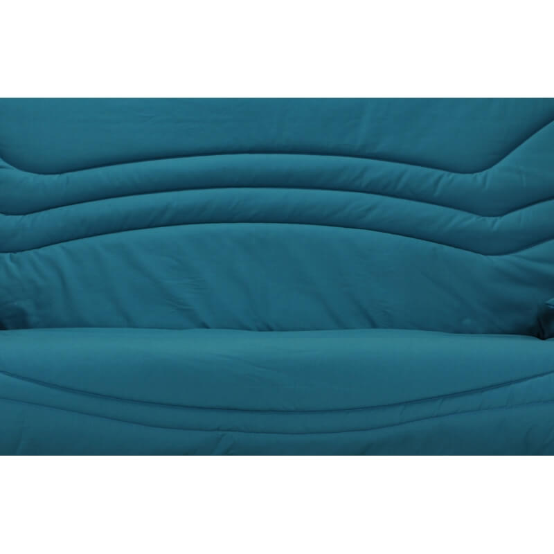 housse bz 2 housses de coussin coloris bleu canard boris matelpro. Black Bedroom Furniture Sets. Home Design Ideas