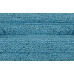 Housse BZ & 2 housses de coussin coloris bleu/imprimé Kahina