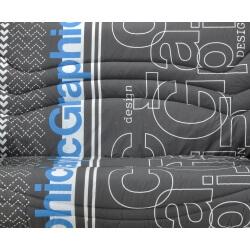 Housse BZ & 2 housses de coussin coloris imprimé Serena