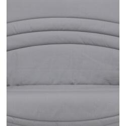 Housse BZ & 2 housses de coussin coloris gris uni Vista