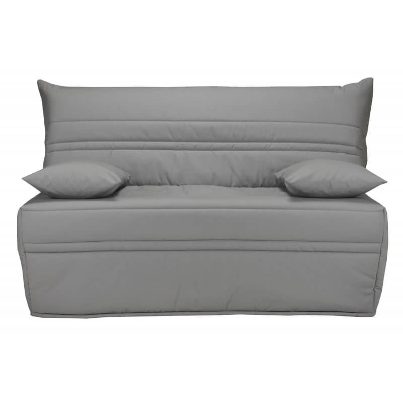 housse bz 2 housses de coussin coloris gris uni vista matelpro. Black Bedroom Furniture Sets. Home Design Ideas
