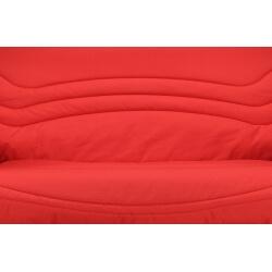 Housse BZ & 2 housses de coussin coloris rouge Vista