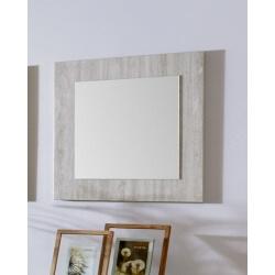 Miroir de salle à manger chêne clair Angelo