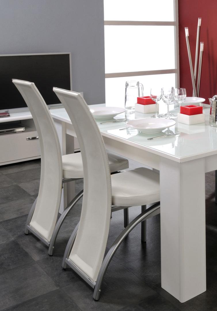 Chaises de salle à manger ICY 2 (lot de 4)