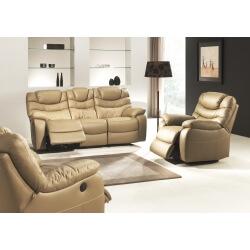 Salon de relaxation 3-1-1 électrique 100% cuir LANA