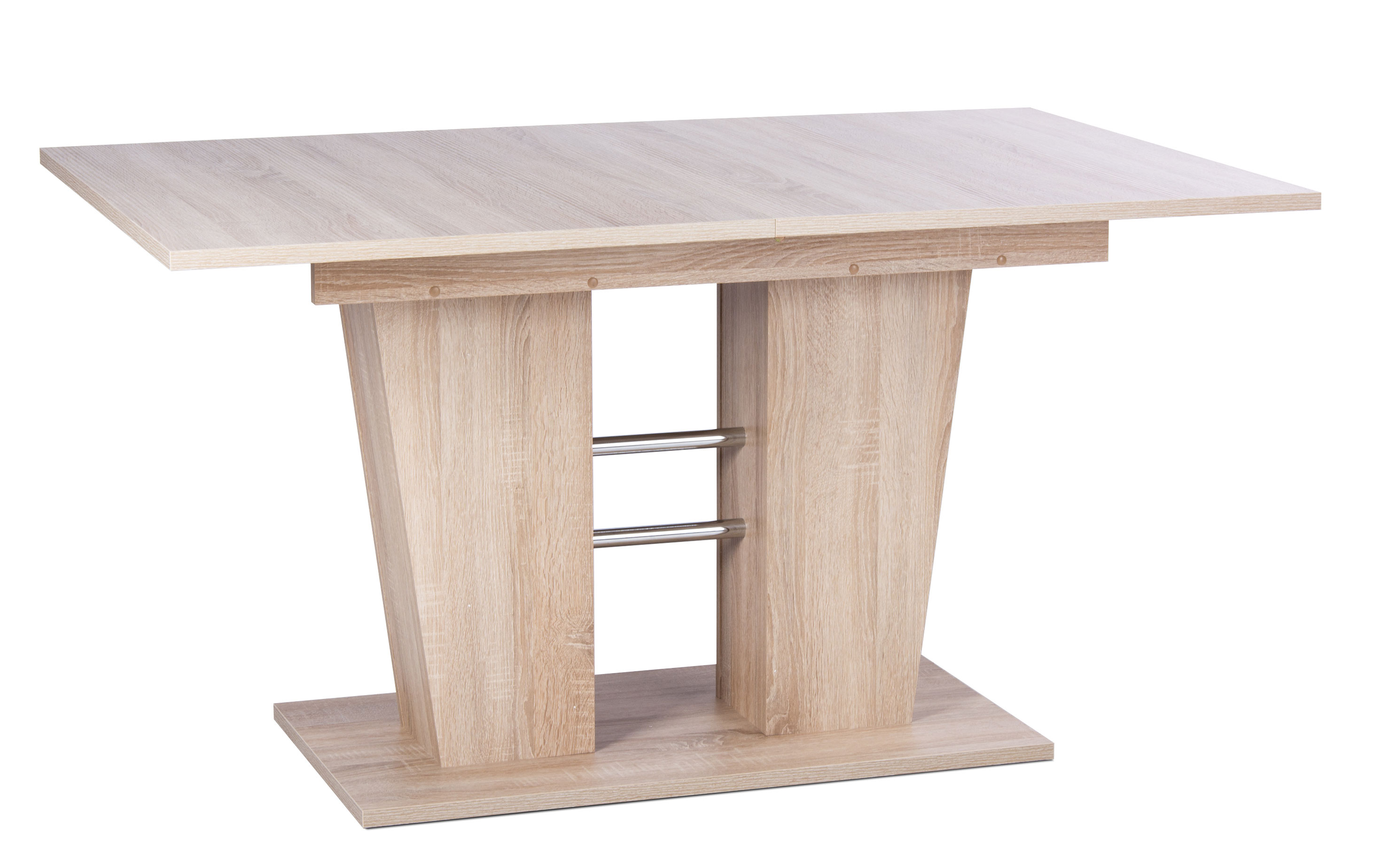 Table De Salle A Manger Extensible Design Coloris Chene Sonoma